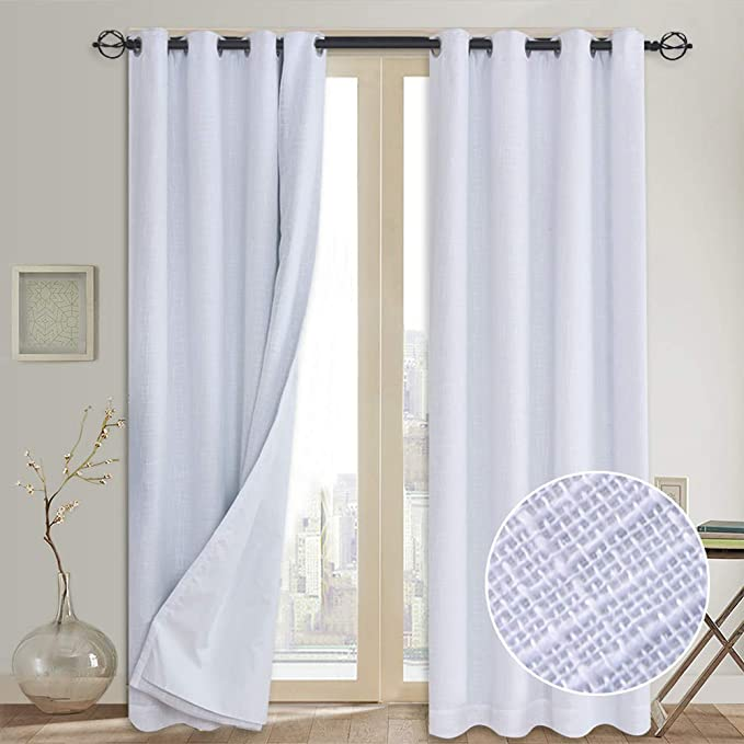 100% Blackout Curtains (with Liner)