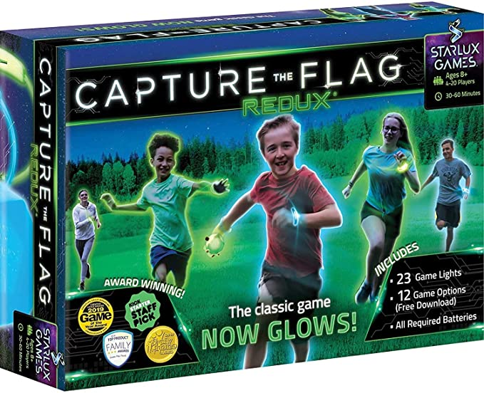 Capture The Flag Redux: The Original Glow-in-The-Dark Outdoor Game for Birthday Parties