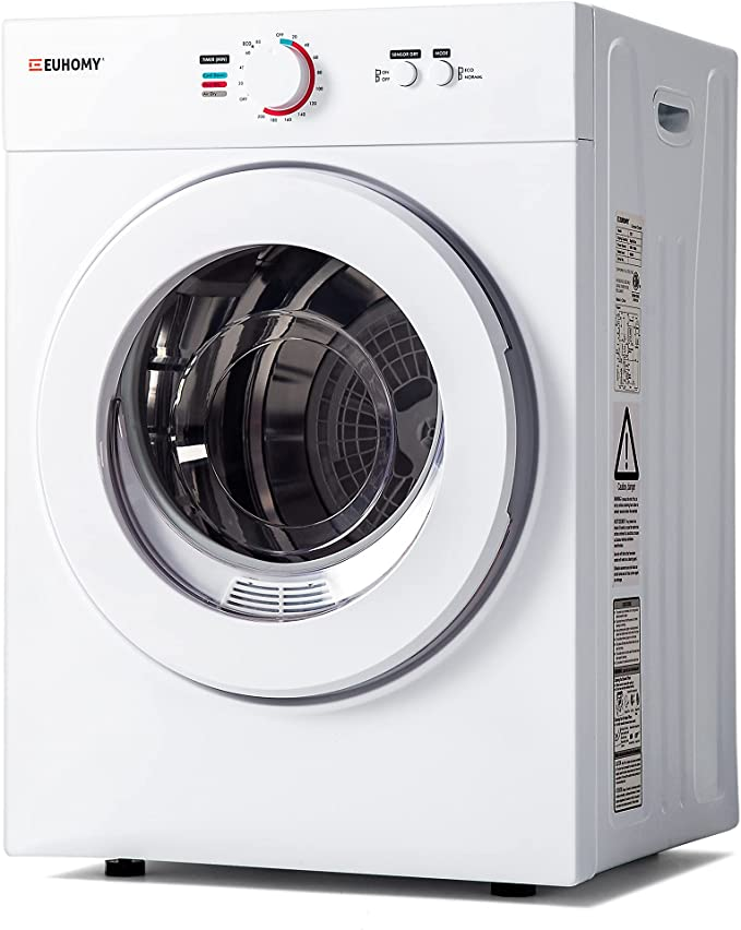 Euhomy Compact Laundry Dryer 1.8 cu.ft
