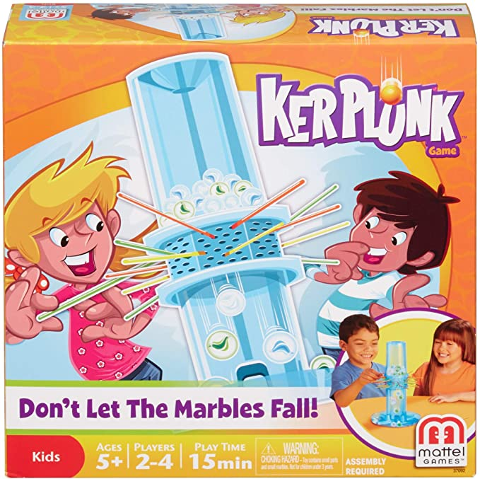 Kerplunk Classic Kids Game with Marbles