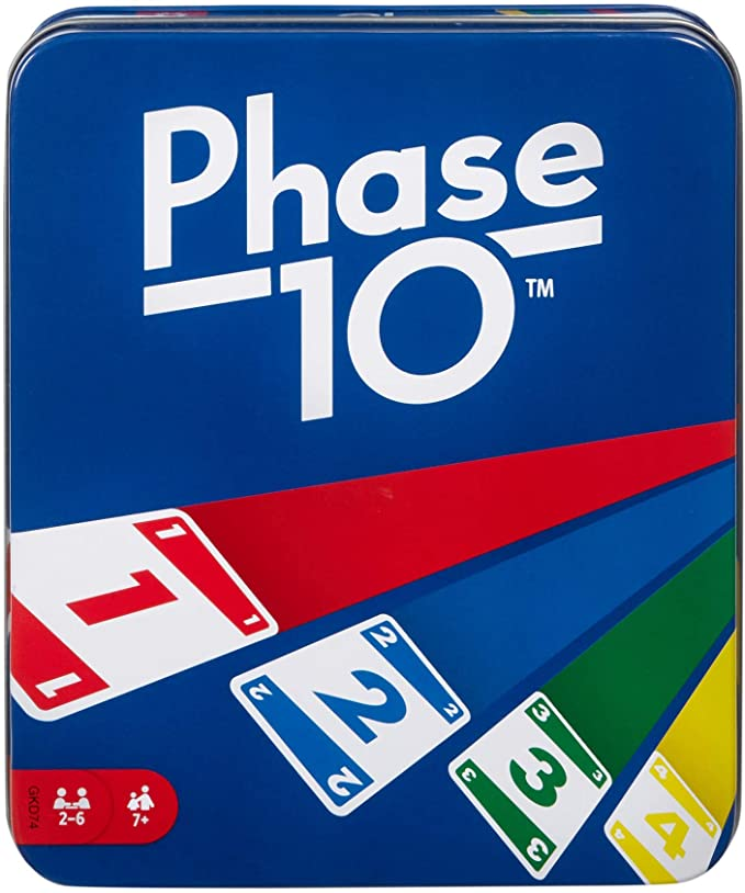 Phase 10 Card Game with 108 Cards