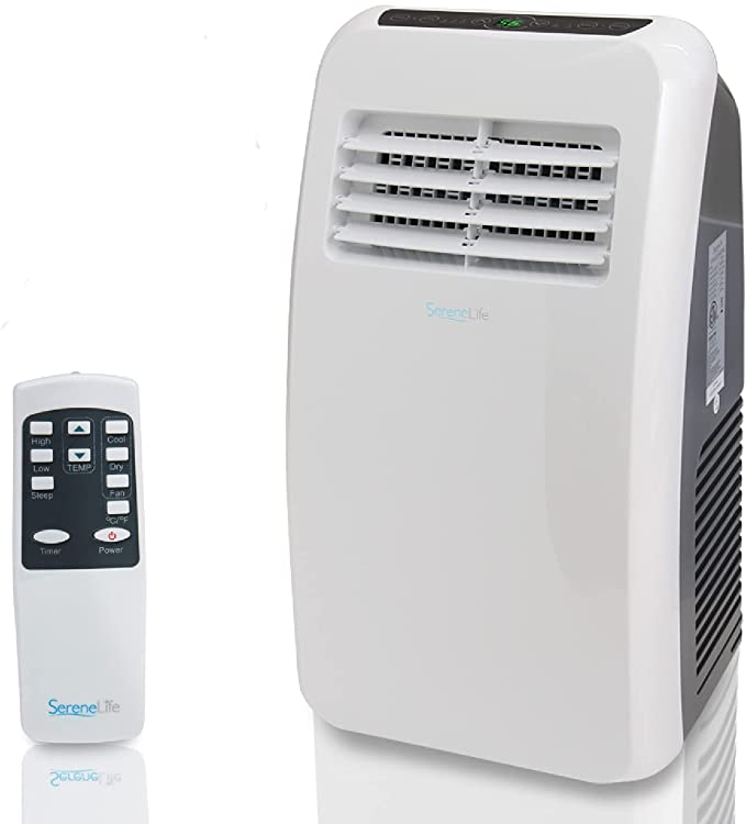 Portable Electric Air Conditioner Unit - 900W 8000 BTU Power Plug In AC Cold Indoor Room Conditioning System w/ Cooler