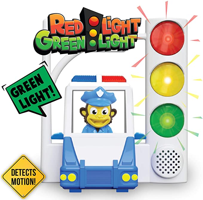 Red Light Green Light with Motion Sensing - Get Kids Active with 3 Different Kids Games