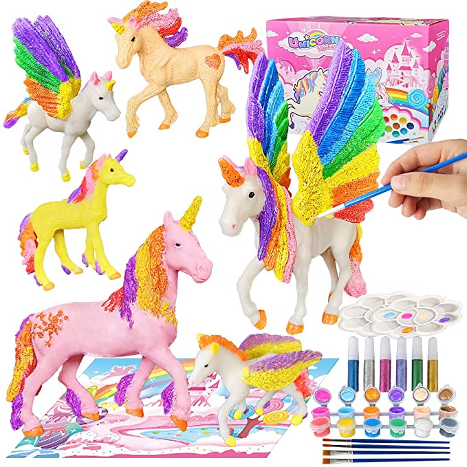 Yileqi Paint Your Own Unicorn Painting Kit