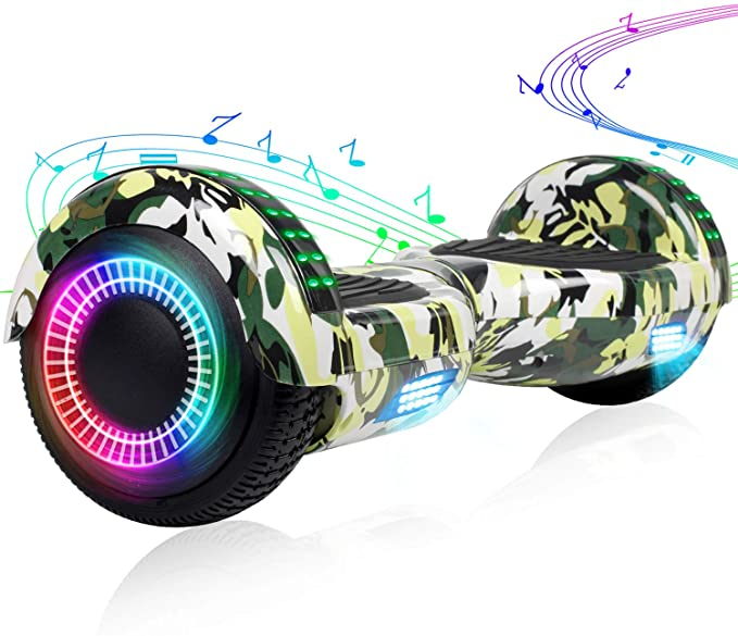 EPCTEK Hoverboard for Kids Two-Wheel Self Balancing Hoverboard with LED Lights