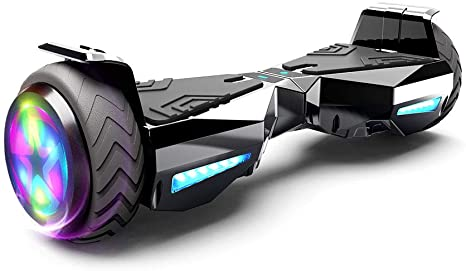 HOVERSTAR Hoverboard Certified HS2.01 Bluetooth Flash Wheel with LED Light Self Balancing Wheel Electric Scooter